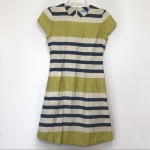 J. McLaughlin Dress Stripe Pockets